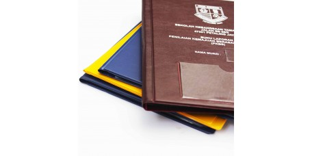 A5 size student report file