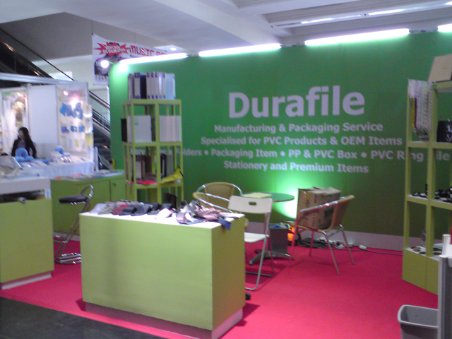 Durafile (M) Sdn. Bhd at Malaysia International Gifts and Premiums Expo 2012 (MIGP EXPO 2012)